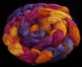 Salt Spring Island 'Booth Bay' - Tussah Silk Roving/Sliver 25g