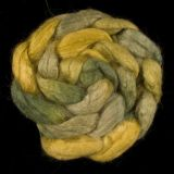 Salt Spring Island 'Duck Creek' - Tussah Silk Roving/Sliver 25g