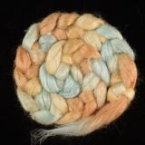 Salt Spring Island Limited Edition 'Rainbow Trout' - Tussah Silk Roving/Sliver 25g