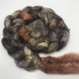 Salt Spring Island Limited Edition 'Red Tail Hawk' - Tussah Silk Roving/Sliver 25g