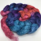 Salt Spring Island Limited Edition 'Unicorn Tail' - Tussah Silk Roving/Sliver 25g
