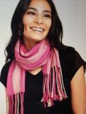 "Kit - Weaving - Limited Edition ""Sweet Peonyi"" Silk Shawl by Anuradha Bhatia"