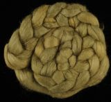 "Limited Edition ""Pheasant Green"" - Hand-dyed Tussah Roving/Sliver 25g"