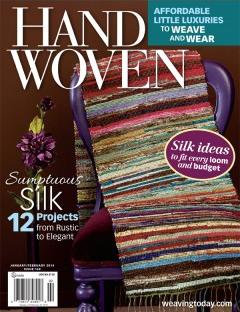 image of Jan 2014 - Handwoven magazine