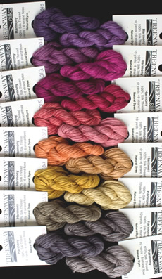 Treenway Silks Harmony hand-dyed silk thread